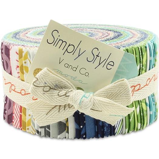 Moda SIMPLY STYLE Jelly Roll 2.5