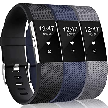 Amazon.com: Wepro bandas compatibles con Fitbit Charge 2 HR ...