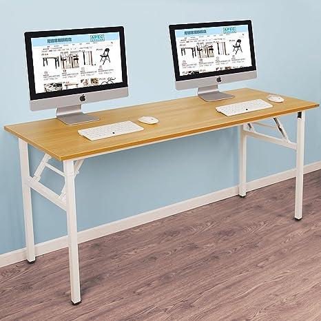 Need Mesa Plegable 140x60cm Mesa de Ordenador Escritorio de ...