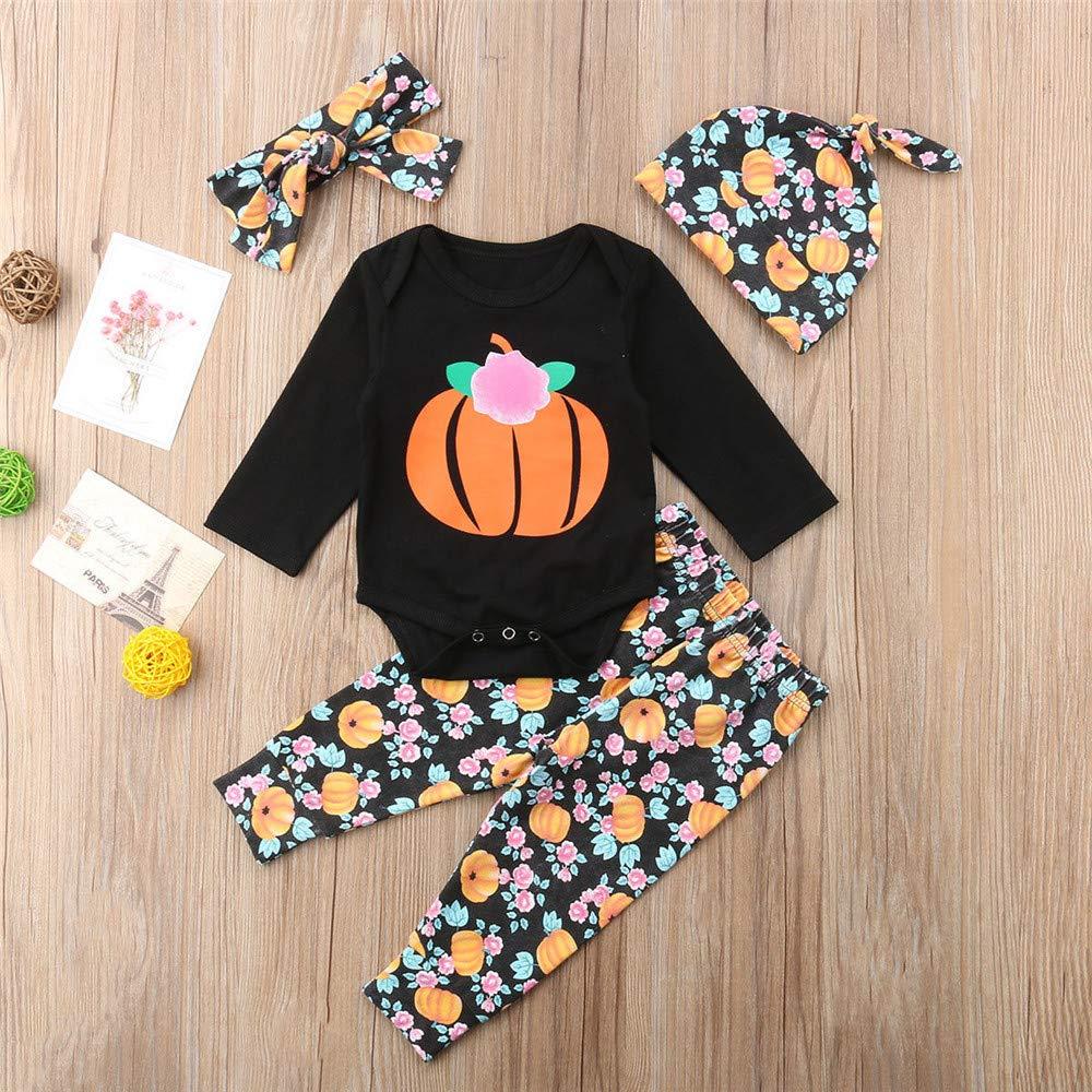 Wang-RX Bebé recién Nacido Niños Niñas Ropa de Halloween ...