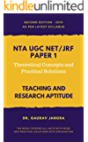 NTA/UGC NET Paper 1 (2nd Edition 2019): Theoretical Concepts with Practical Solutions