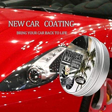 Zghybd New Car Coating Wax Anti Scratch Car Polish Liquid Nano Ceramic Coat Detailing Long Lasting Protection Oxidizing Liquid Ceramic Coating 150ml Küche Haushalt