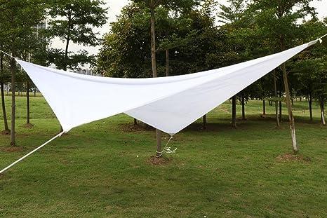 Tenda A Vela Quadrata : Yahee m vela parasole impermeabile protezione uv solare