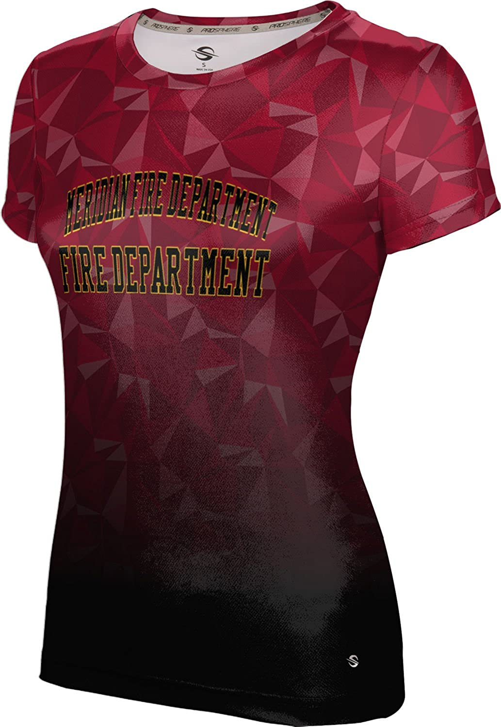 ProSphere Women's Meridian Fire Department Gov-Fire-Police Maya Tech Tee