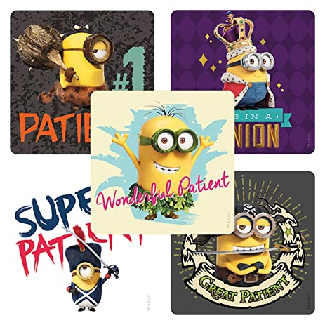 Minions Patient Stickers - Doctor Office Giveaways - 100 Per Pack - from  Smilemakers