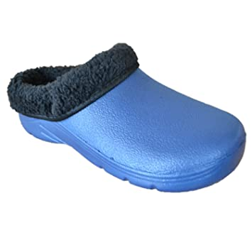 Briers, Damen Clogs & Pantoletten Blau navy UK: 9, EUR: 43
