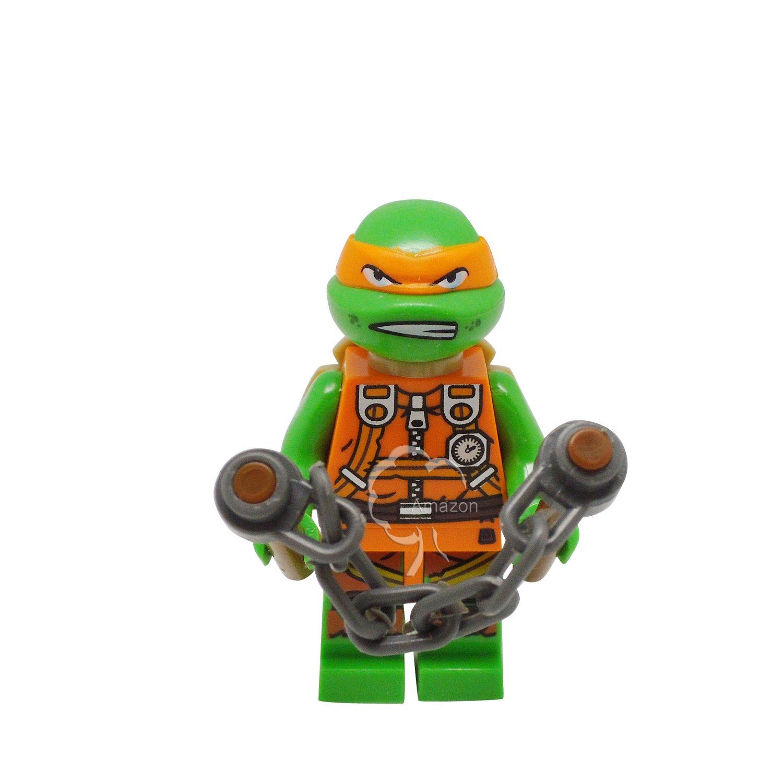 Amazon.com: Building Toys Minifigure Ninja Turtles ...