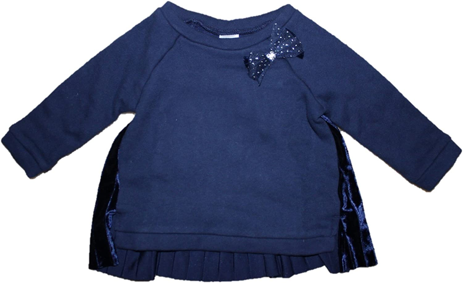 9 Months Carters Baby Girls Navy Pullover