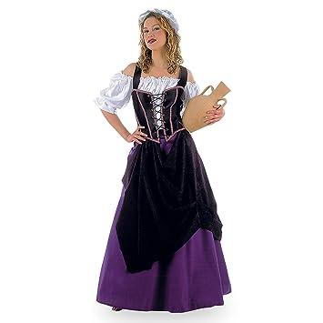 fbdb934aec6 Moyen-Âge - Costume Patronne Médiévale - Déguisement Femme - XXL ...