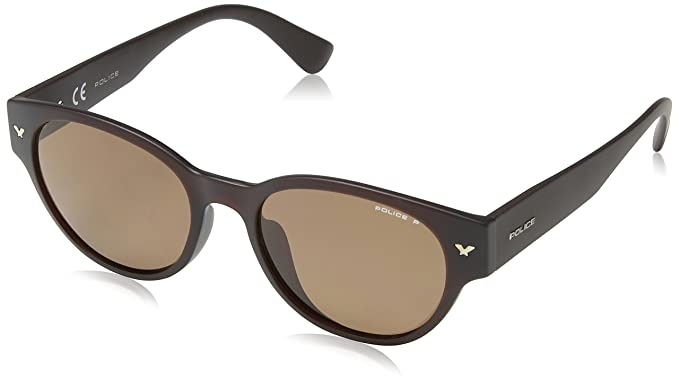 Police Off Stage 2 Sonnenbrille schwarz M78P Polarisiert 52mm eTUZIXEe