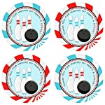 Boy Bowling Party Thank You Sticker Labels - Kids Entertainment Sport Birthday Favor- Set of 30