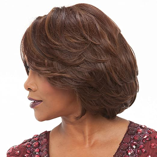 Amazon.com : Vivica A. Fox GAIL New Futura Fiber, PS Cap Wig in Color 4 : Beauty