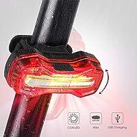 Albrillo Luz LED Trasera Bicicleta