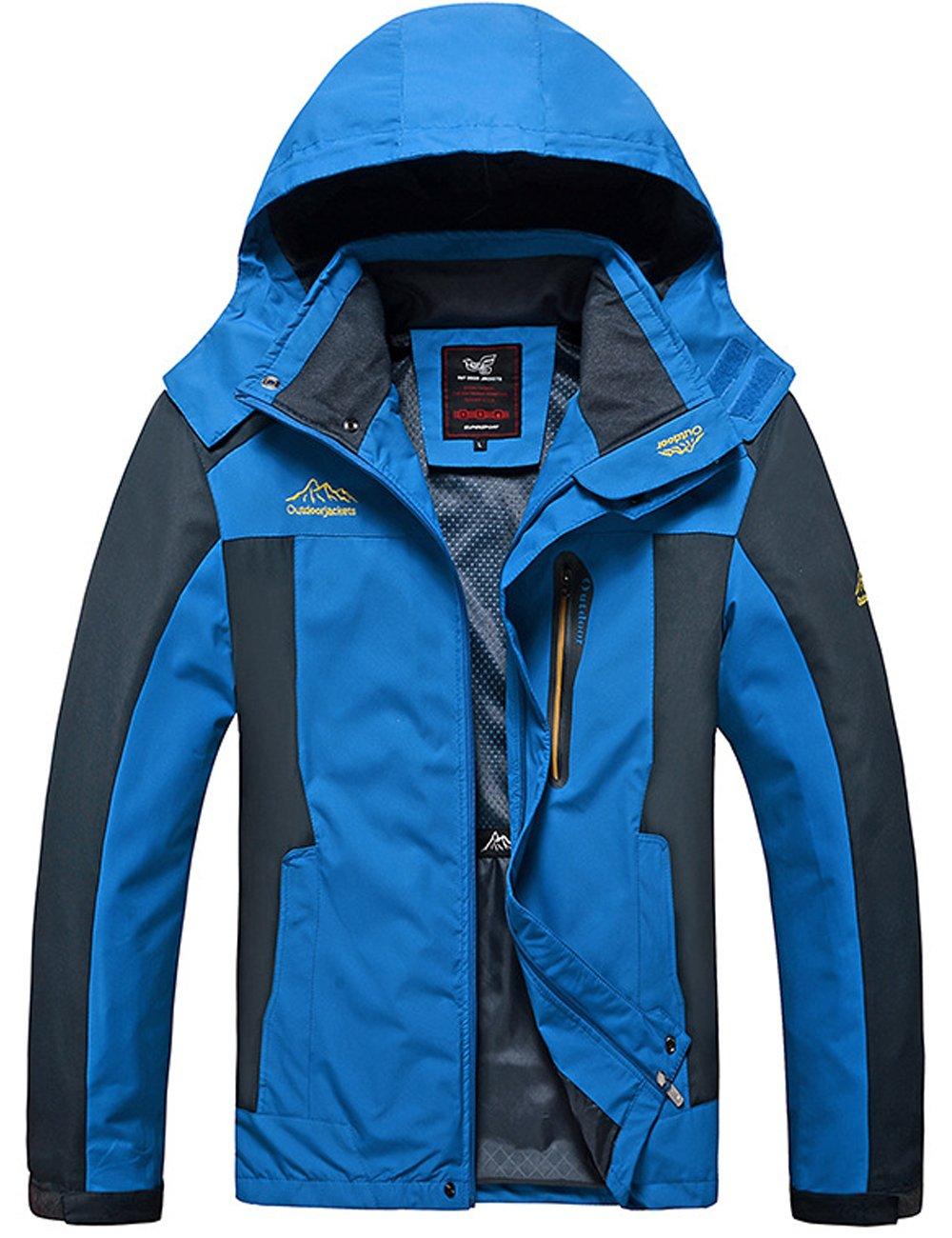 Menschwear OUTERWEAR メンズ B076JHQ4FY L|Blue 9929 Blue 9929 L