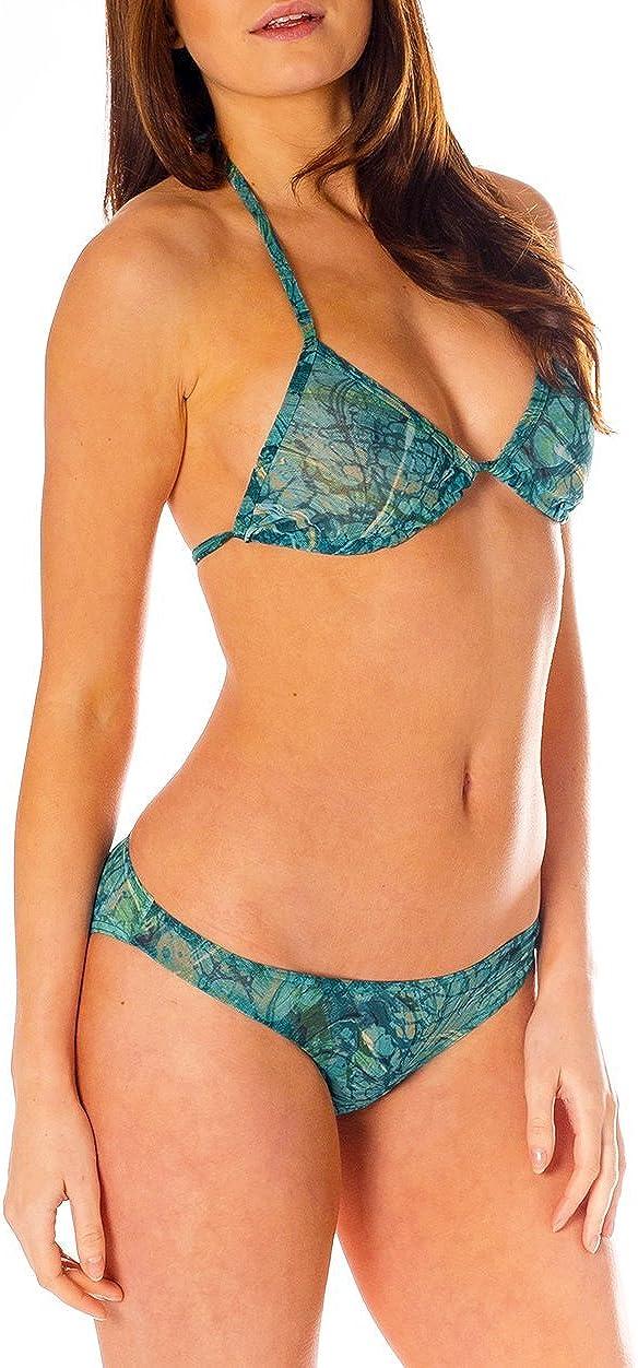 Kiniki Santorini Tan Through Bikini Top