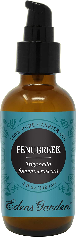 Edens Garden Fenugreek Carrier Oil (Best for Mixing with Essential Oils), 4 oz