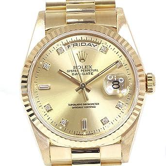 99346f600d Amazon | [ロレックス]ROLEX メンズ時計 デイデイト 18238A X番(1991年製 ...