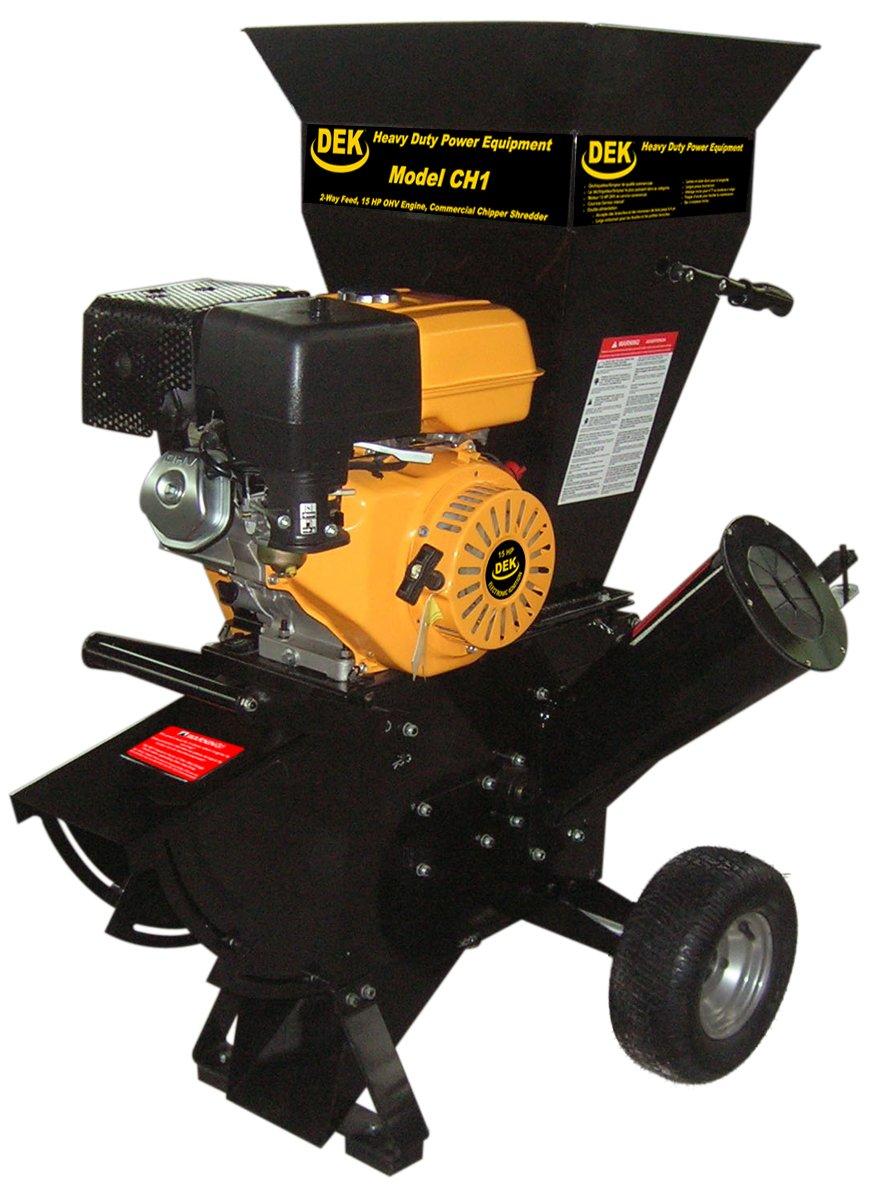 DEK 15 HP 420cc Commercial Duty Chipper Shredder