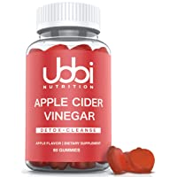 Apple Cider Vinegar Gummies by Ubbi Nutrition (60 Day Supply) with The Mother -...