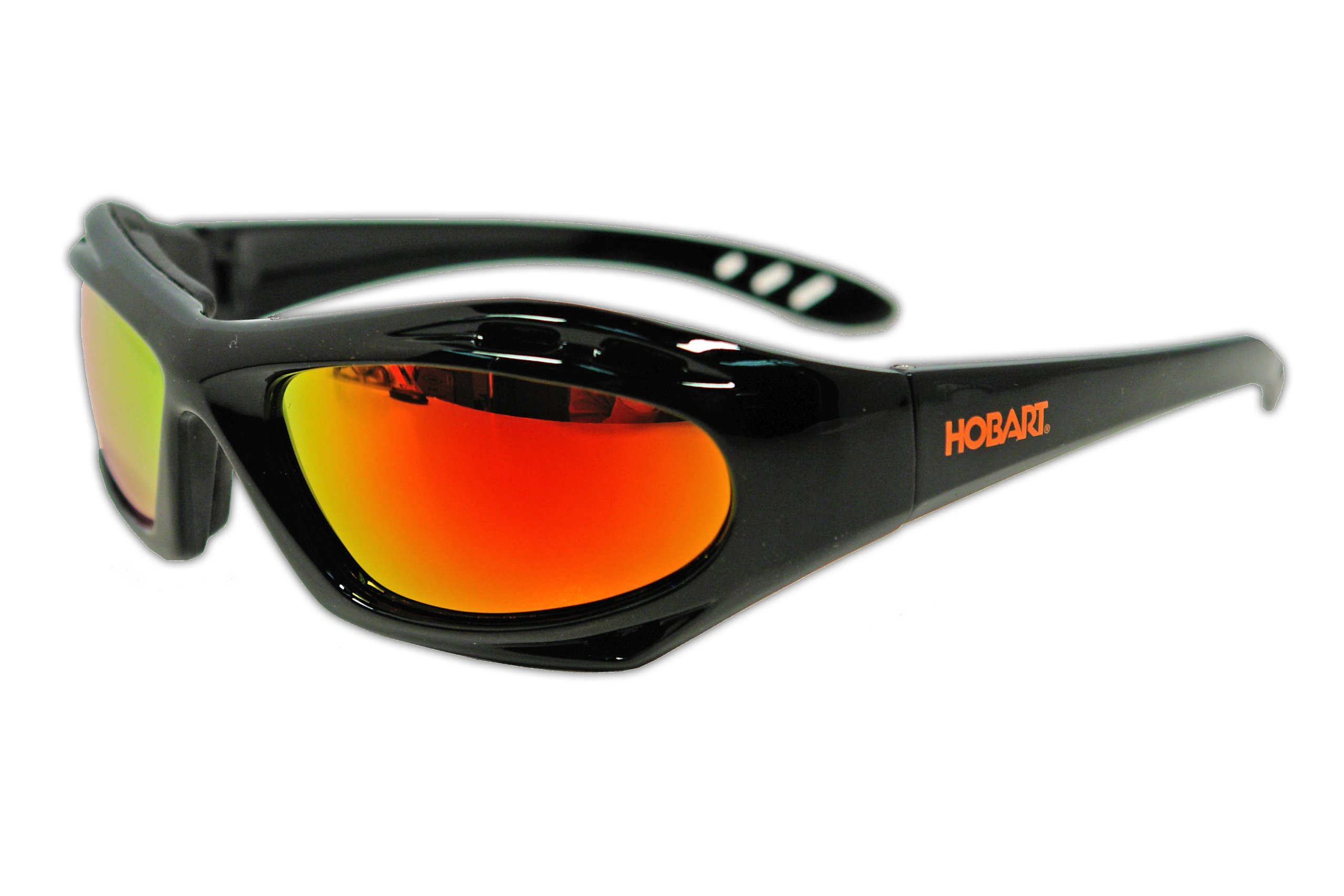 Hobart 770726 Shade 5, Mirrored Lens Safety Glasses