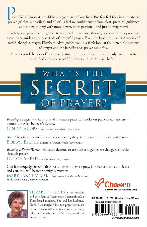 Becoming a prayer warrior elizabeth alves pdf