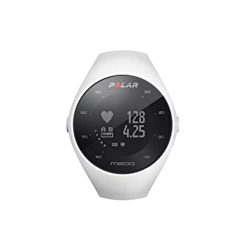 86766fbfbc0f Polar M200 - Reloj de Running con GPS y Frecuencia cardíaca en la muñeca -  Actividad 24 7 - Blanco