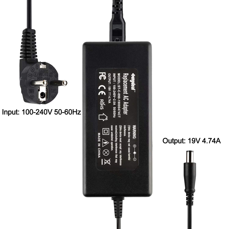 65W 18.5V 3.5A 45W 90W Adaptador-Cargador-para-HP-Pavilion G4 G6 G7 DV3 DV4 DV5 DV7 DM4 N17908 NC6400 NC2400 NC4400 NC6320 NC6400 NW8440 NW9440 NX6310 ...