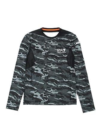 d26b4bfc5f2d Emporio Armani Ea7 6ZPT09 PJF2Z T-Shirt Man  Amazon.co.uk  Clothing