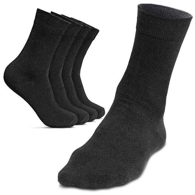 ROYALZ Calcetines de hombre 5 pares para traje casual y ...