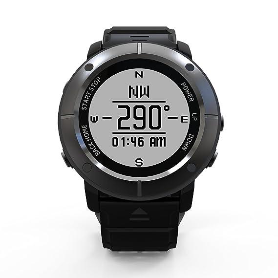 LanLan Reloj de moda, Etbotu Reloj inteligente deportivo, con monitor de ritmo cardíaco,