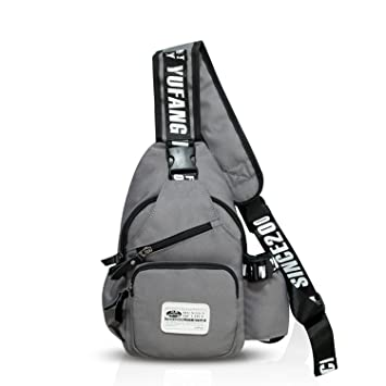 c76a50fcaf FANDARE Mode Sling Bag Monospalla Borse a Spalla Zaino Spalla Borsa a  Tracolla Crossbody Bag Borsello Marsupio Zainetto Crossbody Chest Bag  Hiking Bag ...