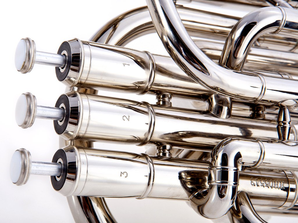 Fever Deluxe Alto Horn Silver Plated, 2411-1-N by Fever