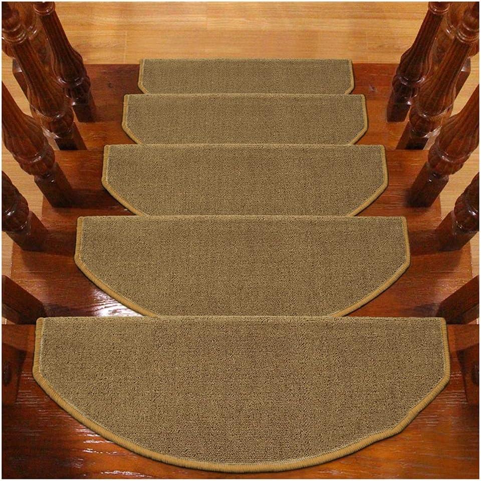 Alfombras de Escalera Alfombrillas para Escalón Tapetes Cojines Piso Mat Alfombras para Escaleras Antideslizantes Y Adhesivas 6mm 5 Tamaño (Color : A, Size : 1PCS 24X80CM): Amazon.es: Hogar