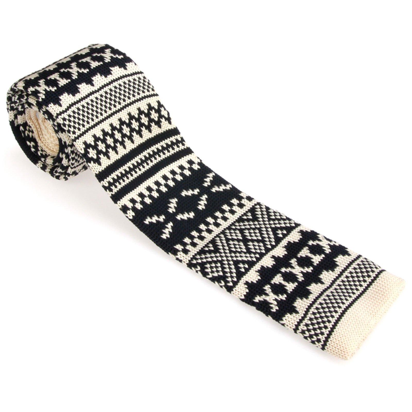 Smart Casual Men's 2'' Skinny Knit Tie Necktie Various Colors