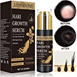 Hair Growth Serum, Anti-Hair Loss Serum, Strengthen Hair Roots Thickening, Promote Hair Growth Regrowth Product for Men…
