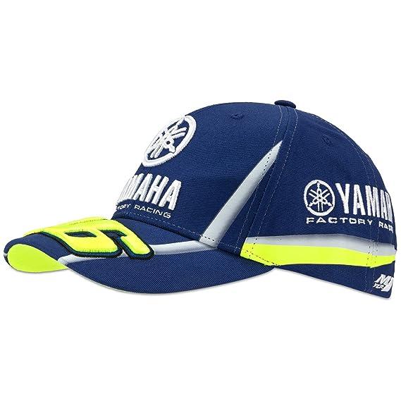 98912cfec Valentino Rossi 2018 VR46 MotoGP M1 Factory Racing Yamaha Racing Cap Blue