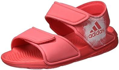 size 40 5e3dc ad5e1 adidas Girls Lifestyle AltaSwim Pool Sandals Beach Strap BA7849 Slides  Summer (EU 28 - UK