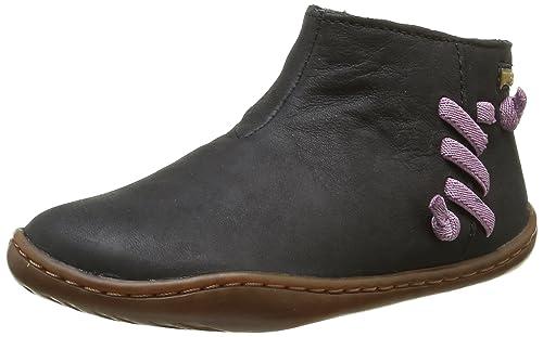 Camper Peu Cami Kids - Botas Chelsea para niñas, color negro (black 001), talla 26 EU: Amazon.es: Zapatos y complementos