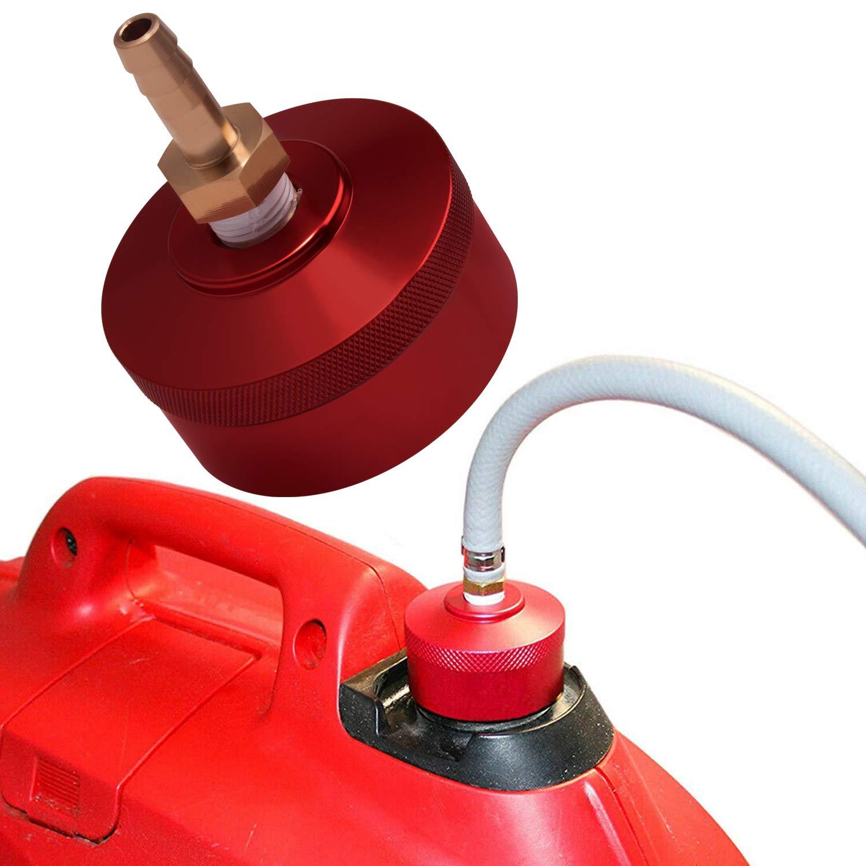 Champion 2000watt Red Upgrade Extended Run Westinghouse 2200watt WH2200iXLT Generators Bonbo Fuel Gas Cap with Brass Hose for Honda EU2200i EU1000i EU2000i EU3000i Handi