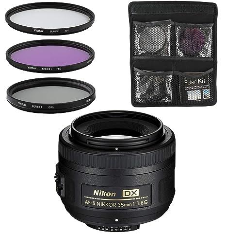 Nikon Objetivo - AF-S DX NIKKOR 35mm f/1.8G: Amazon.es: Electrónica
