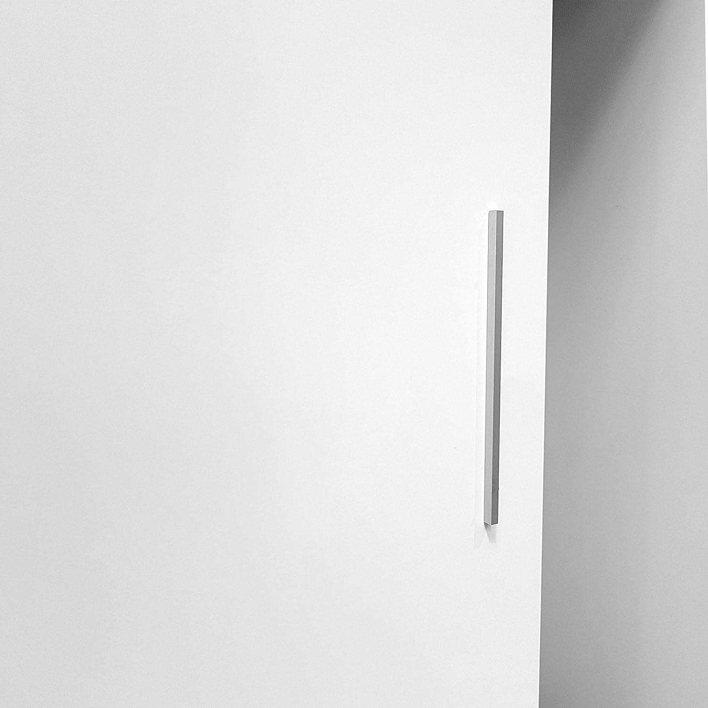inova Star Varilla Mango Aluminio Accesorios para Puertas correderas de Madera 14 x 12 x 400 mm Aluminio Mango Mango Puerta Tirador para Puerta: Amazon.es: Hogar