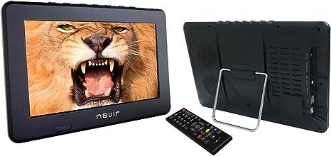 Nevir NVR-7301-TDT10P, TV portátil con TDT 10.1