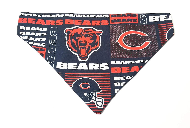 Chicago Bears Pet No-Tie Over the Collar Dog Bandana