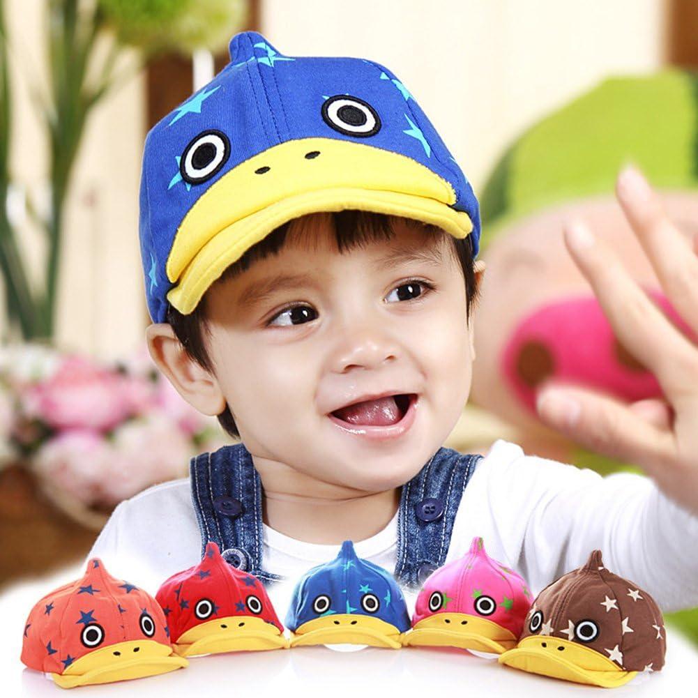 Roffatide Ragazze Ragazzi Berretto da Baseball Cappello da Sole Bambini Estate Allaperto Regolabile Cappello Dei Bambini