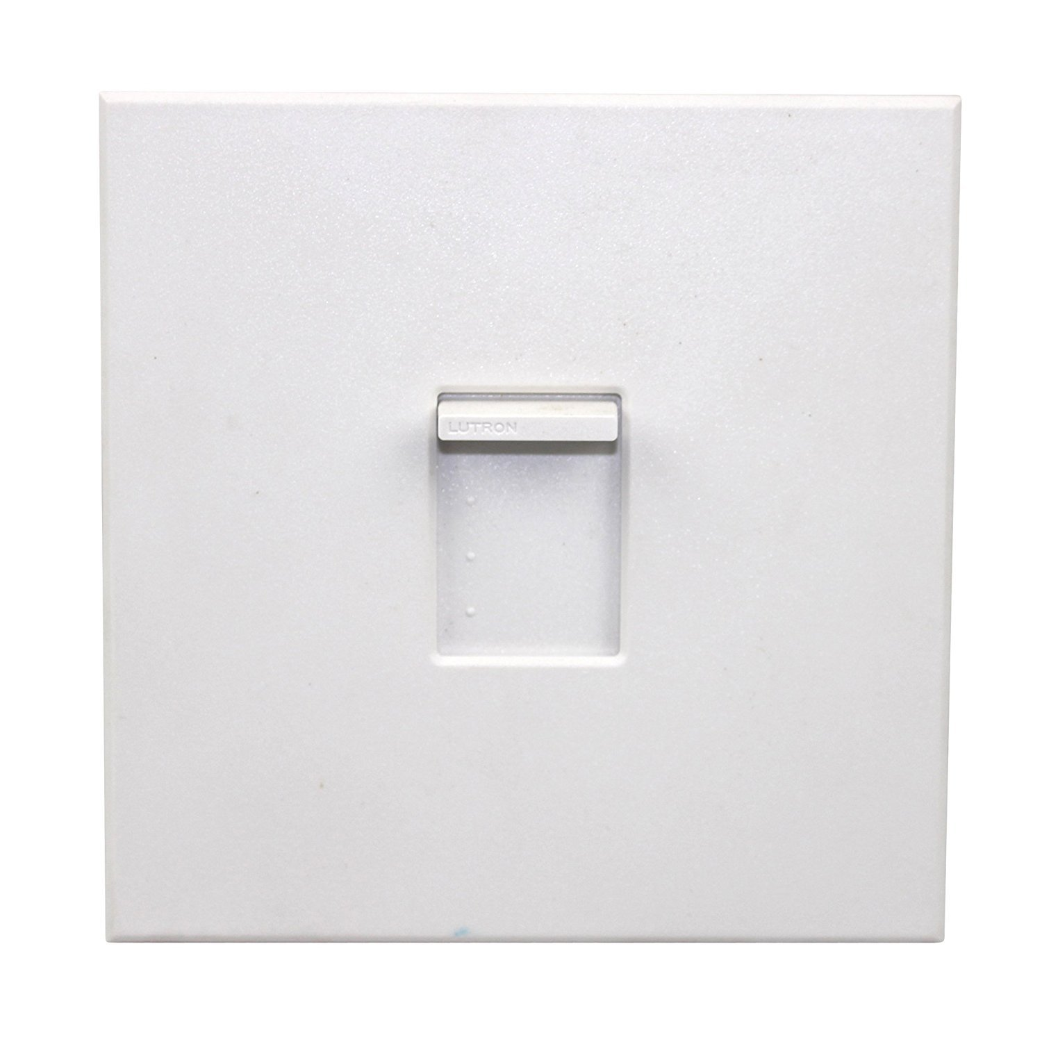 Lutron NTFS-12E-WH Nova T 120V 12A Single Pole Fully Variable Fan Speed Control in White, Matte Finish by Lutron
