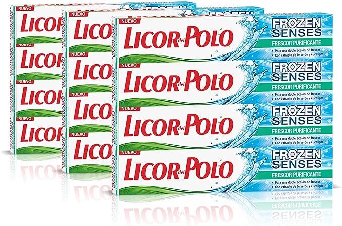 Licor del Polo Dentífrico Frozen Senses Frescor Purificante - 12 x ...