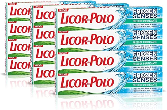 Licor del Polo Dentífrico Frozen Senses Frescor Purificante - 12 x 75 ...