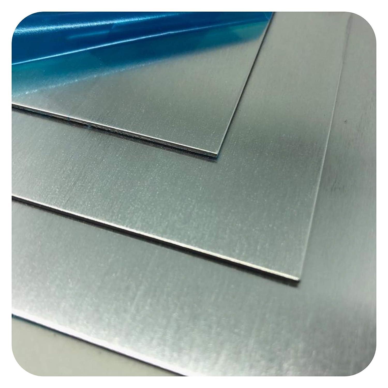 Aluminium Blech 1000 x 250 x 2,5mm AlMg3 Alu Zuschnitt Blechstreifen Alublech