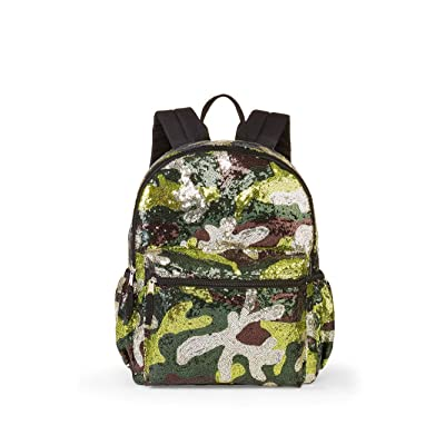 "16"" Sequins Backpack (Camo) 