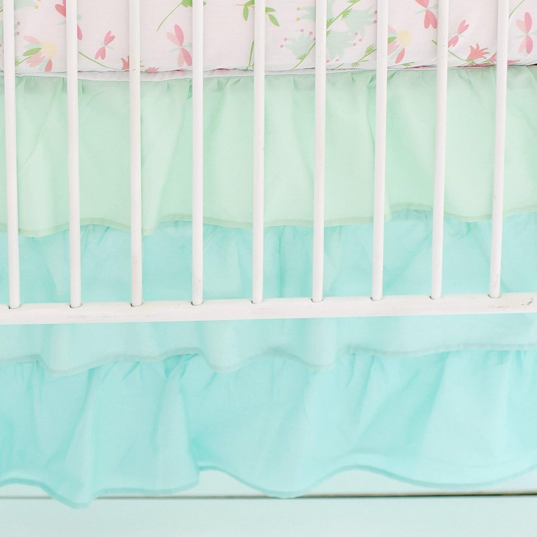 My Baby Sam Ombre Ruffled Nursery Skirt, Mint CS183